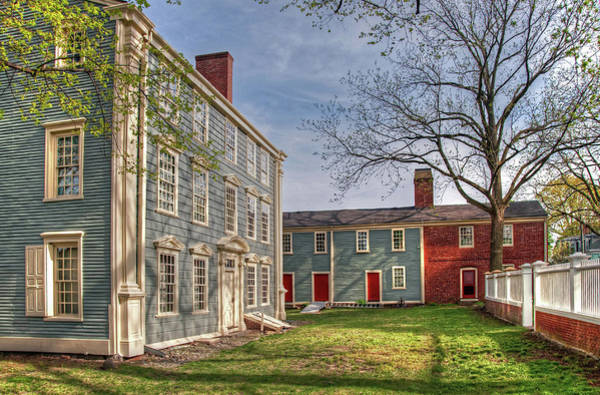 Poster featuring the photograph Royall House And Slave Quarters by Wayne Marshall Chase