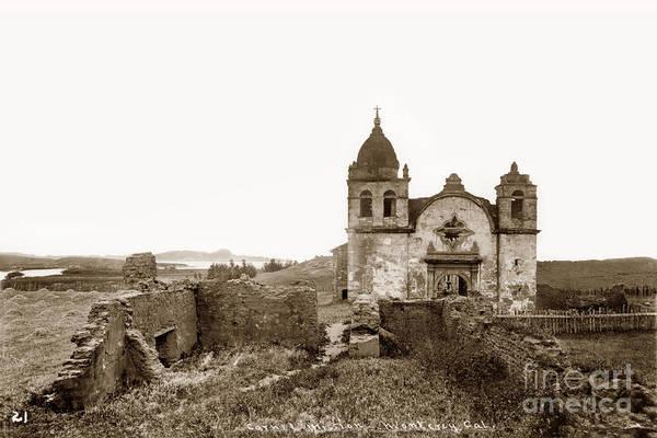 Ruins Of Carmel Mission, Monterey, Cal. Circa 1882 Poster
