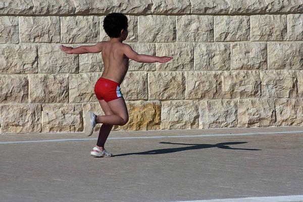 Running Child Poster