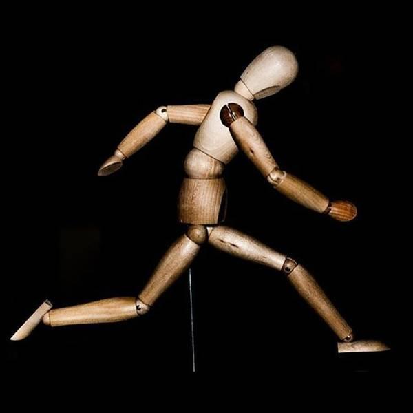 Running Man. #photographer #photo Poster