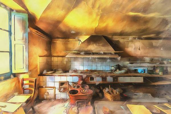 Rural Culinary Atmosphere Nr 2 - Atmosfera Culinaria Rurale IIi Paint Poster