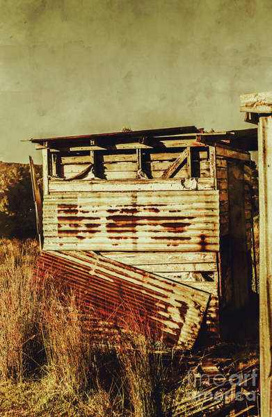 Rustic Abandonment Poster