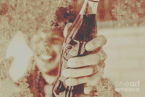 Rustic Drinks Advertising  Poster