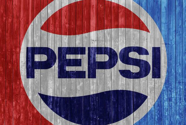 Rustic Pepsi Logo Poster