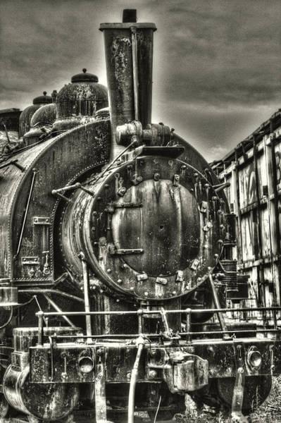 Rusting Locomotive Poster
