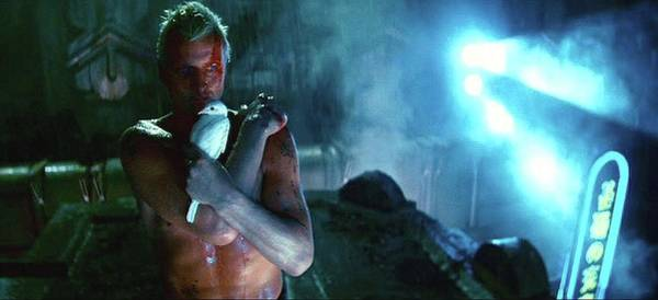Rutger Hauer Number 2 Blade Runner Publicity Photo 1982 Color Added 2016 Poster