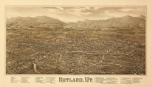 Antique Rutland, Vt. Poster