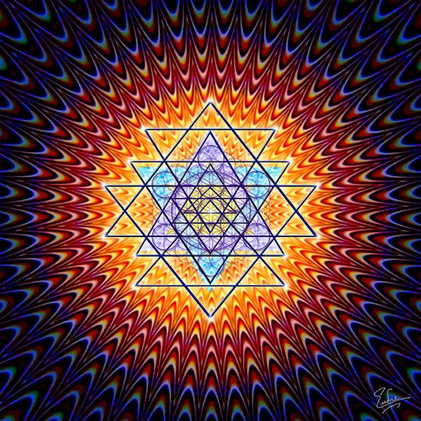 Sacred Geometry 141 Poster