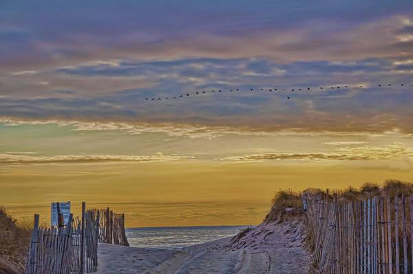 Sagg Main Beach In Winter Poster