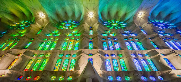 Sagrada Familia Northeast Wall Barcelona Poster