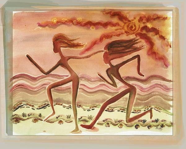 Saharan Runners Poster