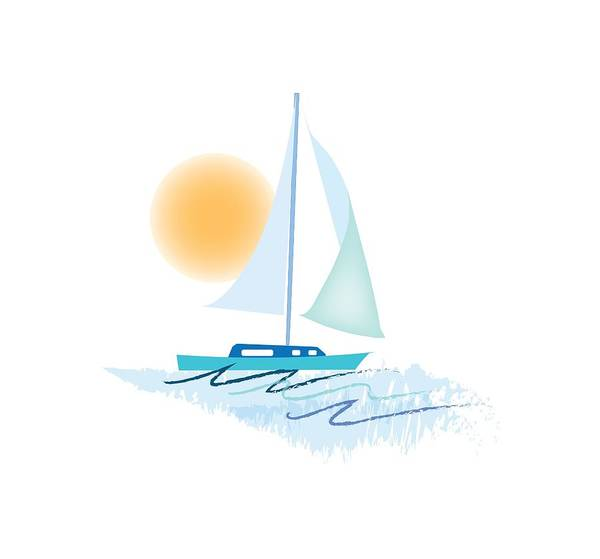 Sailing Day Poster