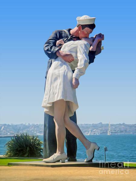Sailors Kiss Poster