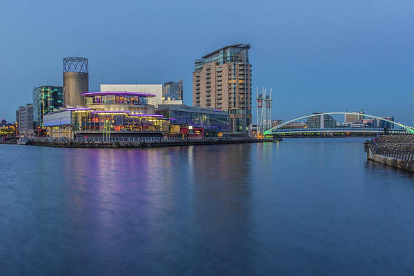 Salford Quays And Lowry Centre Poster