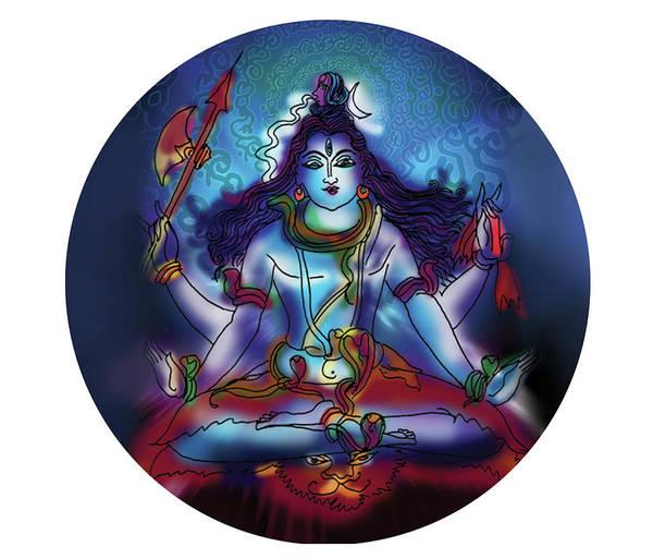 Samadhi Shiva Poster
