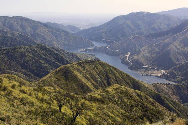San Gabriel Canyon Reservoir Poster