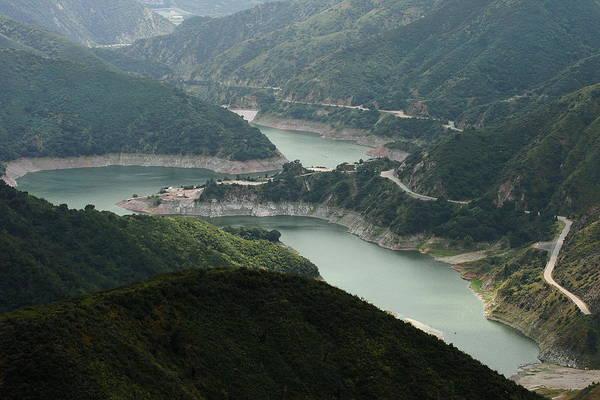 San Gabriel Dam Poster