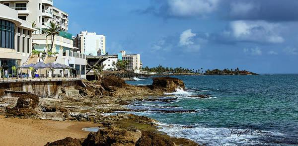 San Juan Bay In Puerto Rico Poster