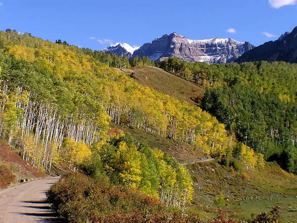 San Juan Mountains Fall Color Colorado Poster
