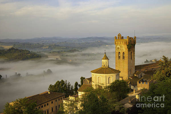 Poster featuring the photograph San Miniato by Brian Jannsen