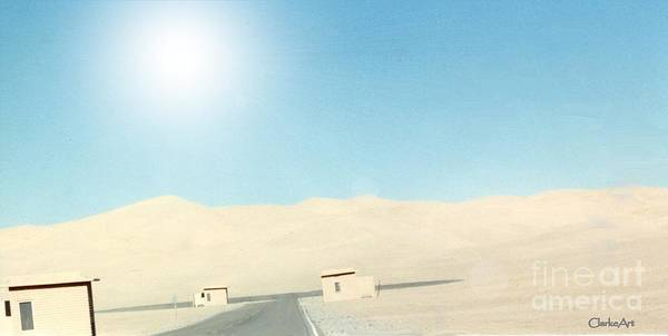 Sand Dune Surreal Poster