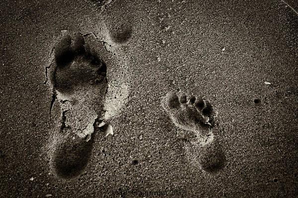 Sand Feet Poster