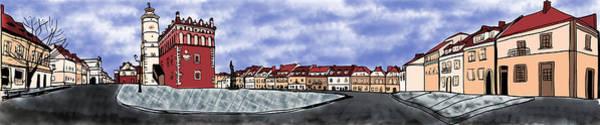 Sandomierz City Poster