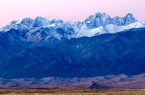 Sangre De Christo And The Great Sand Dunes National Park Poster