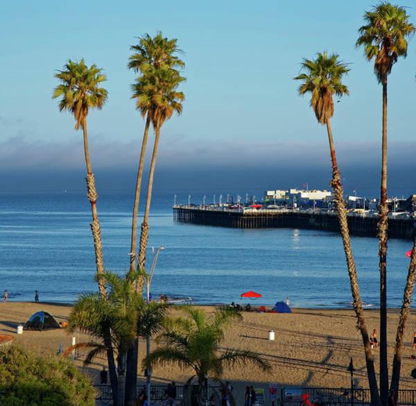 Santa Cruz Beach Poster