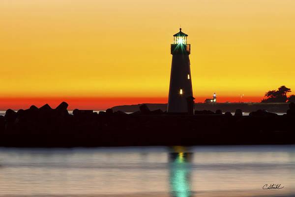 Santa Cruz Lighthouses Poster