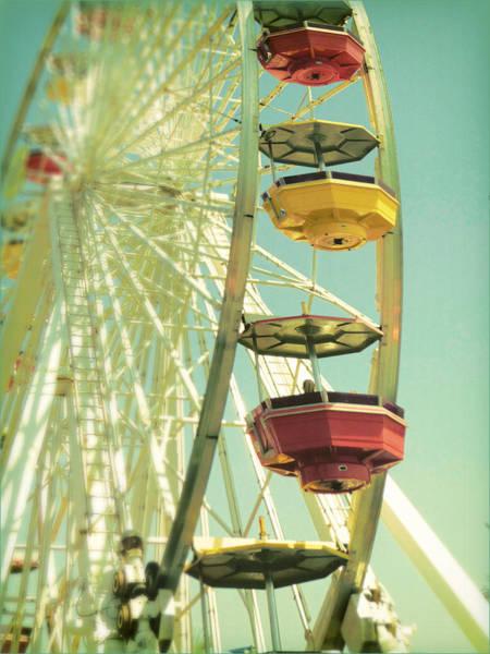 Santa Monica Ferris Wheel Poster