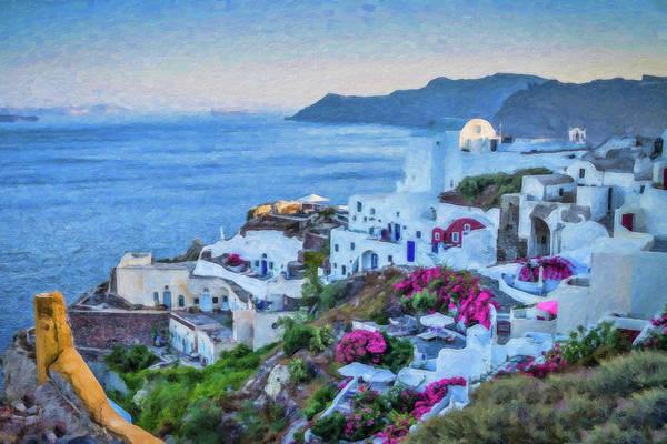 Santorini Greece Dwp416136  Poster