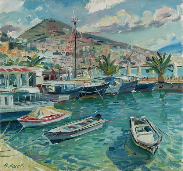 Saranda Dock, Albanian Riviera Poster