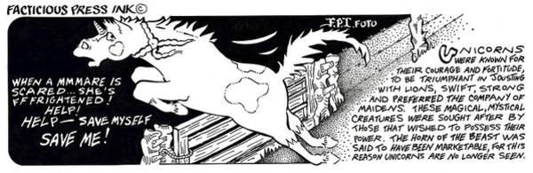 Save Myself Fpi Cartoon Poster