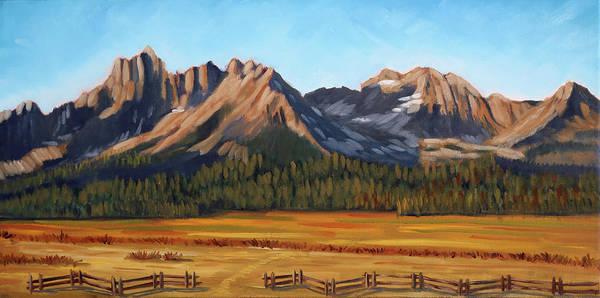 Sawtooth Mountains - Iron Creek Poster