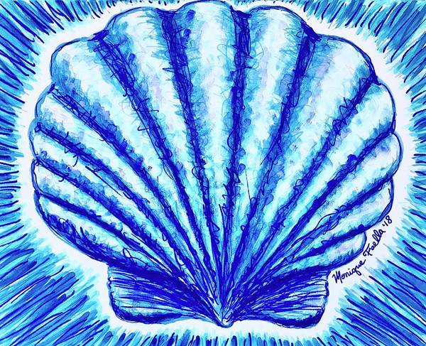 Scallop Poster