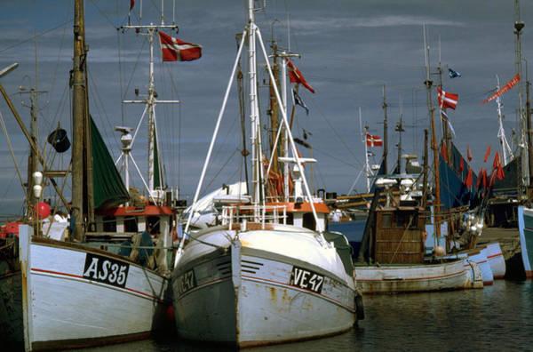 Scandinavian Fisher Boats Poster