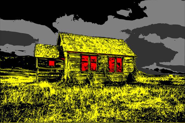 Scary Farmhouse Poster