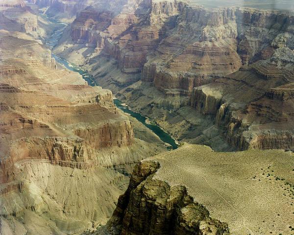 Scenic Grand Canyhon And Colorado River Poster