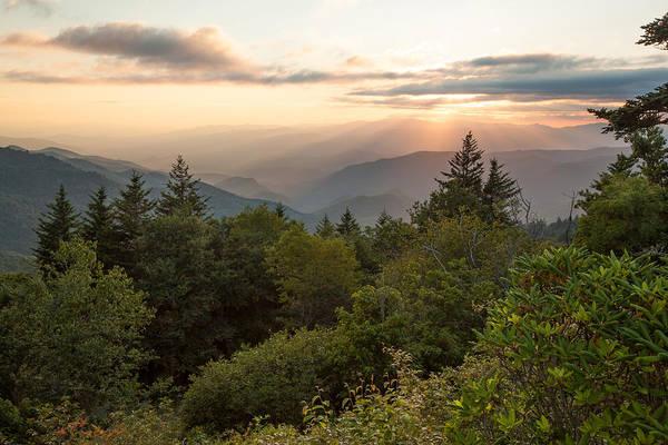 Scenic Smoky Mountains Poster