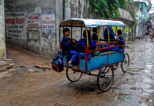 School Cart Poster