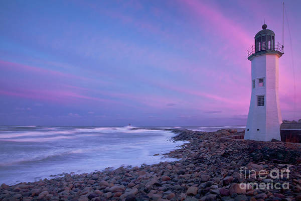 Scituate Sunset  Poster