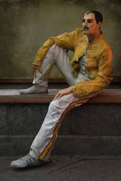 Sculptures Of Sankt Petersburg - Freddie Mercury Poster