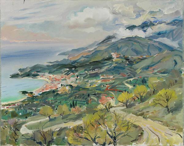 Sea Overview, Mediterraneo, Himara, Vlora, Albania Poster