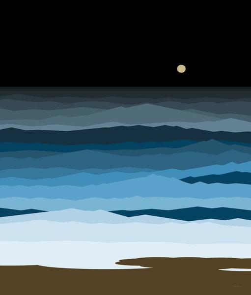 Seascape - Night Poster