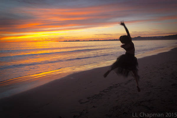 Seaside Dancer Poster
