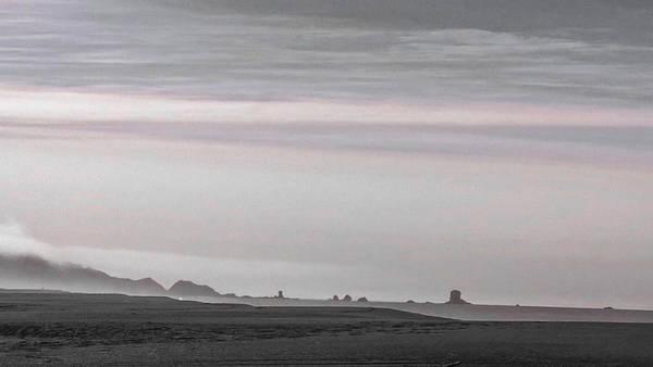 Seastacks In Fog Poster