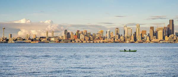 Seattle Skyline 2 Poster