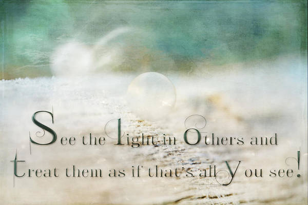 See The Light In Others Poster