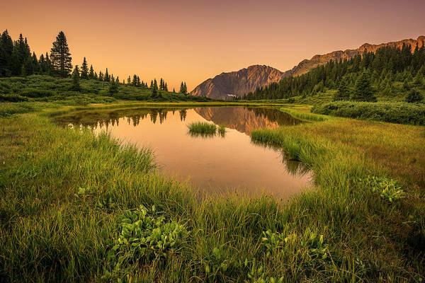 Serene Lake Poster